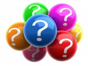 BLOG question marks