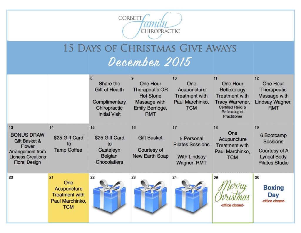 give away calendar DAY 12