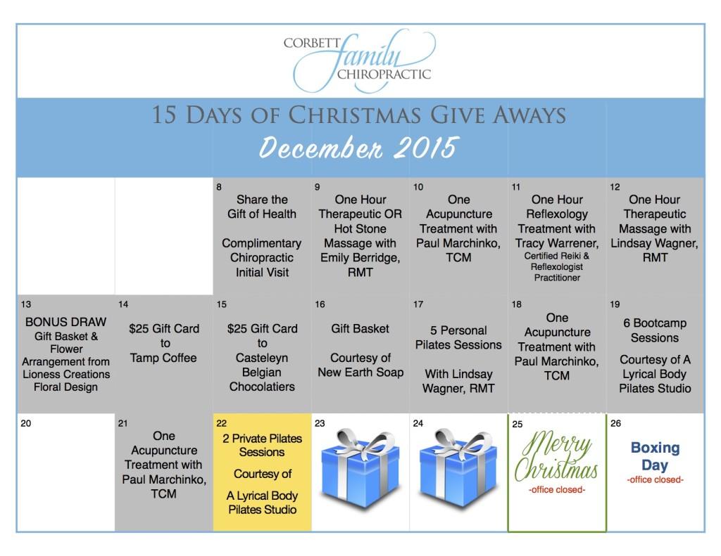 give away calendar DAY 13