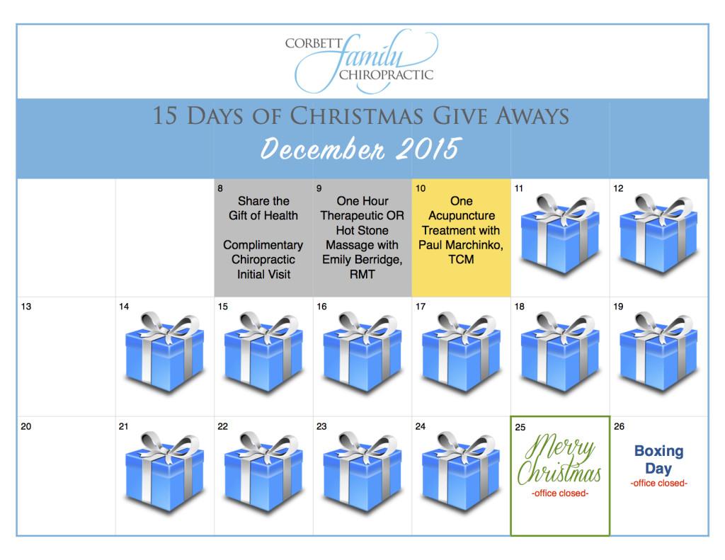 give away calendar DAY 3