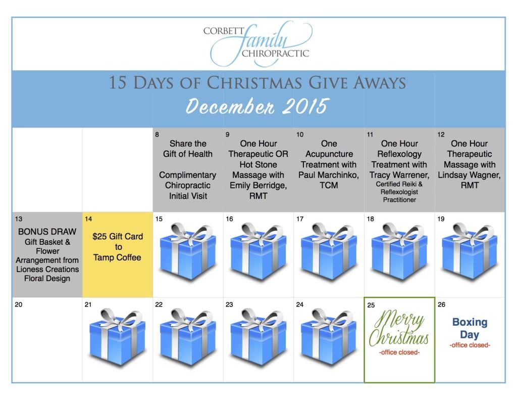 give away calendar DAY 6