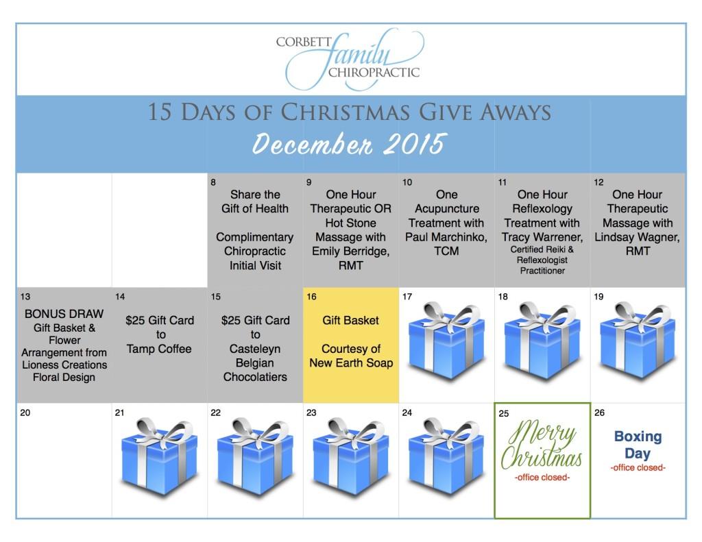 give away calendar DAY 8
