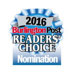 2016 Burlington Readers' Choice