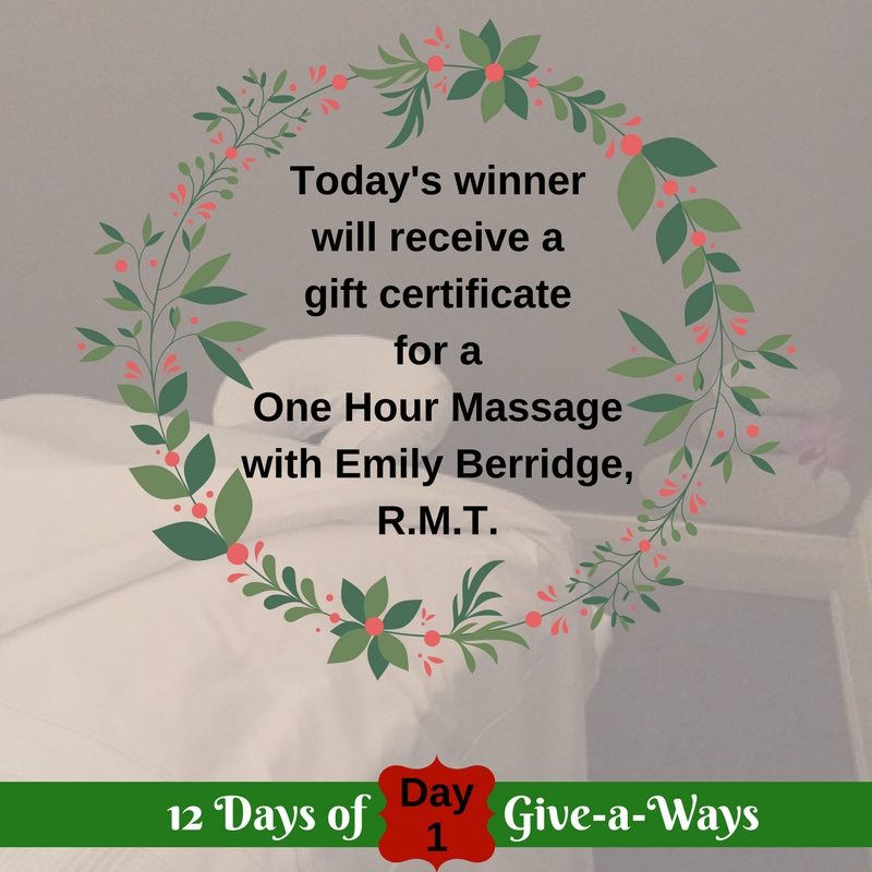 One Hour Massage Gift Certificate