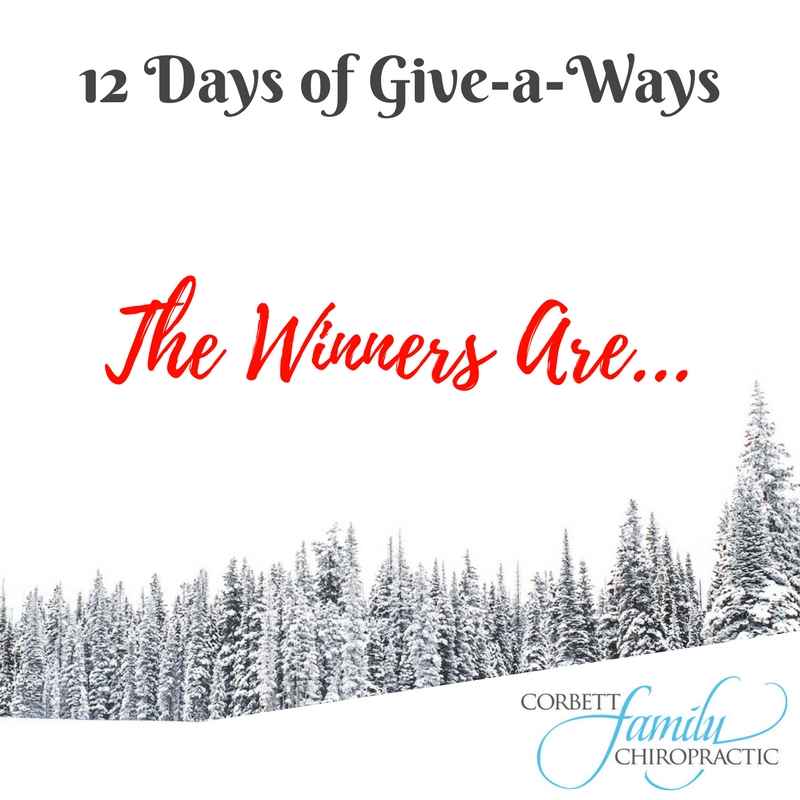 12 Days of Give-a-ways